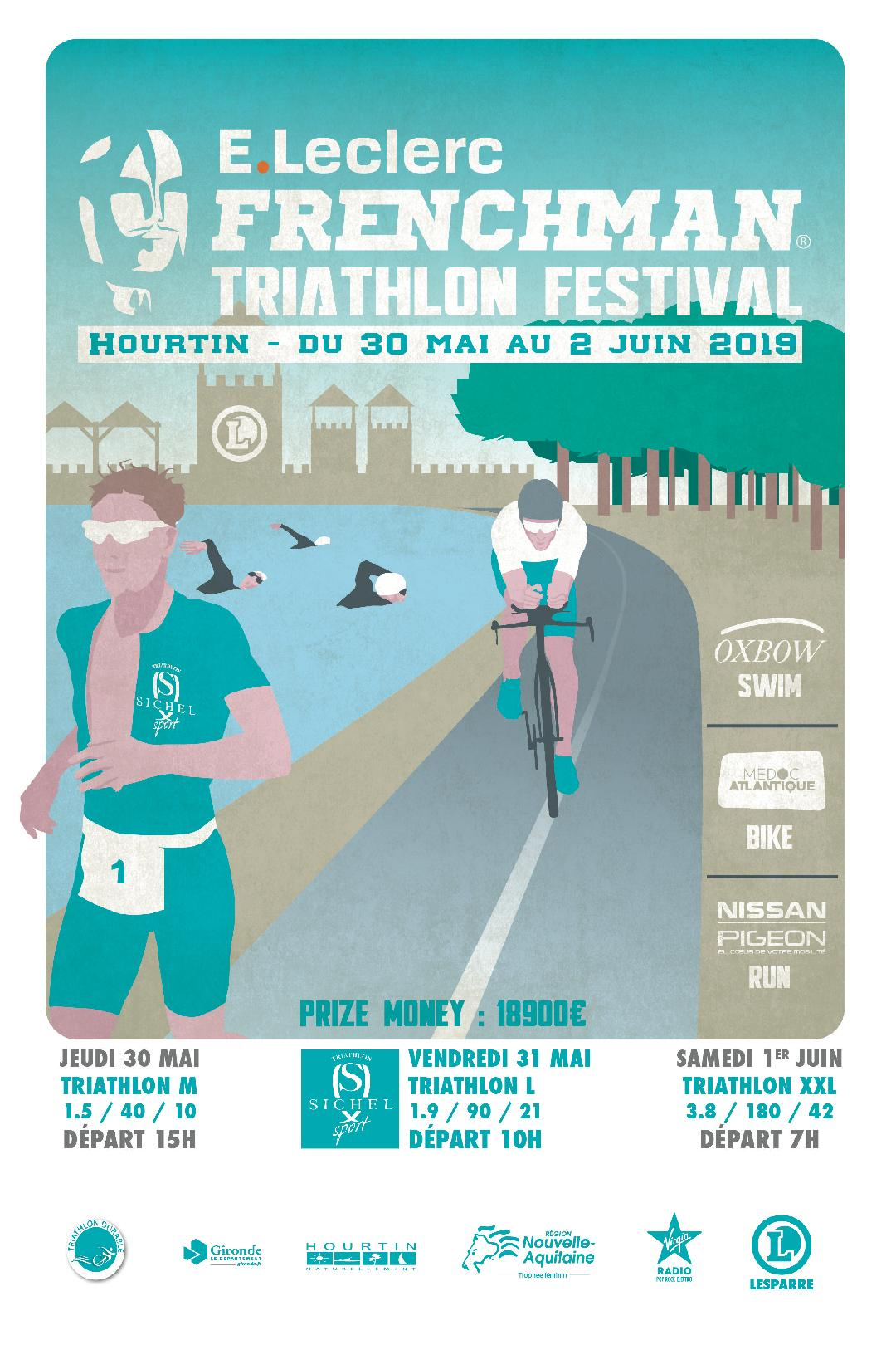 Frenchman Triathlon Hourtin 30/05-02/06/2019