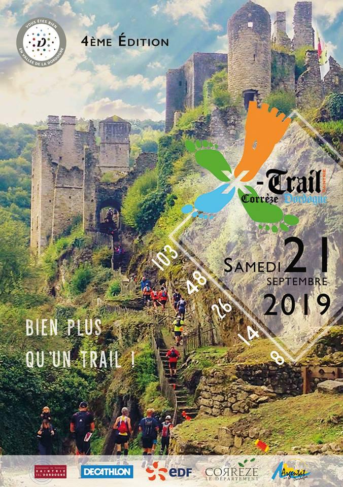 X-TRAIL Corrèze Dordogne 21 septembre 2019